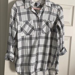 Button down blouse H&M size 10